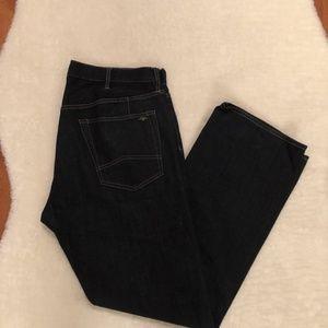 Mens Armani Exchange Dark Wash Jeans